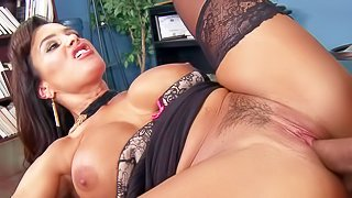 Lisa Ann is her lawyers office. She convinces her Danny Mountain to fix her problems after terrible car accident. She blows his cock gets her many times fucked mature snatch drilled again