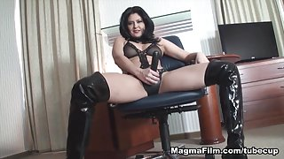 Mariska X in Strap On Femdom Movie