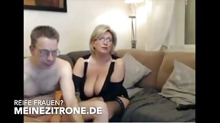 german mom dad with natural busty boobs macromastia tits big breasted bbw