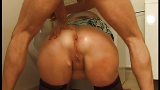 Fat Milf Can Take A Rough Anal Fuck