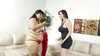 Sarah and her bbw friend