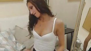 Pretty Cam Girl Plays with her Tight Pussy