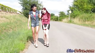 Fetish lesbos wam in piss