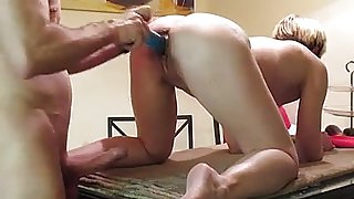 Fucking my nice Milf on Kitchentable